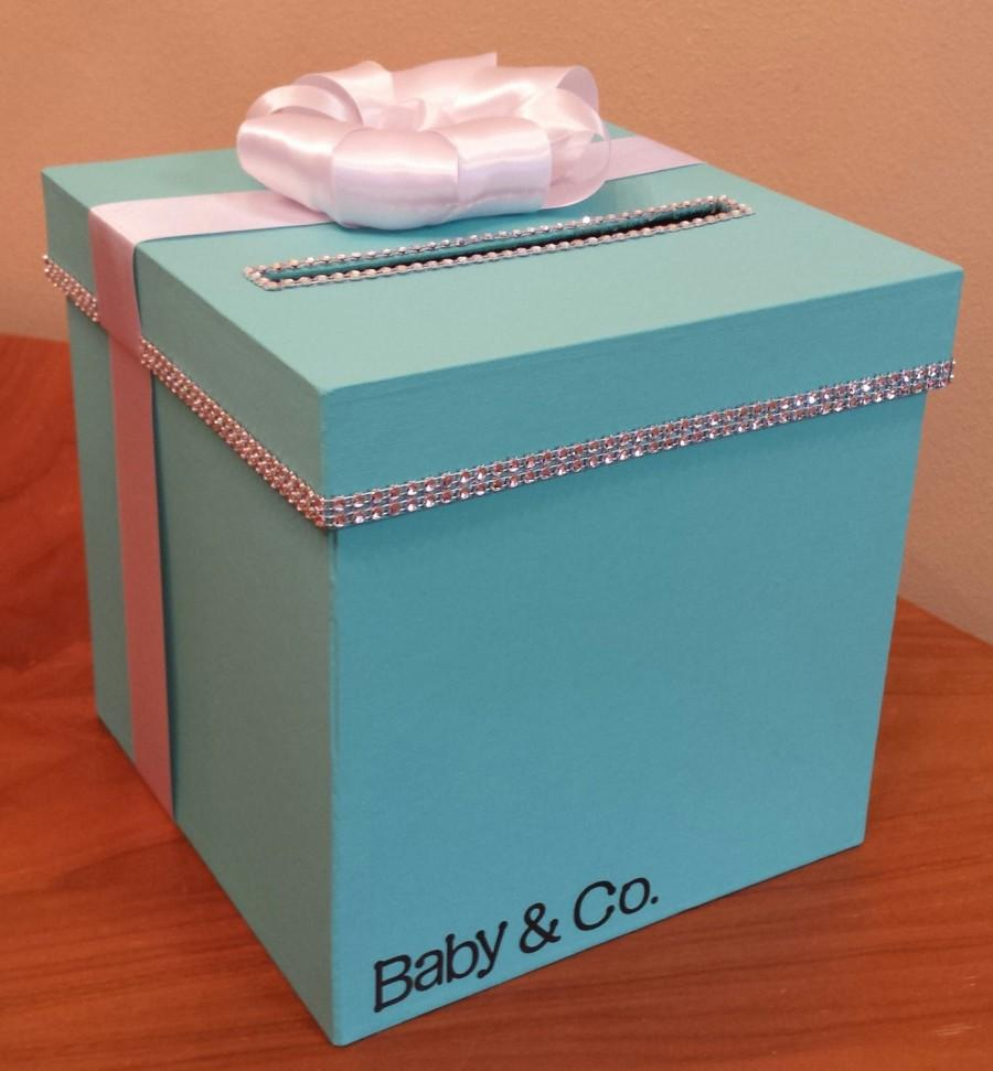 Card box with personalization for a wedding baby shower bridal card box with personalization for a wedding baby shower bridal shower or birthday party bookmarktalkfo