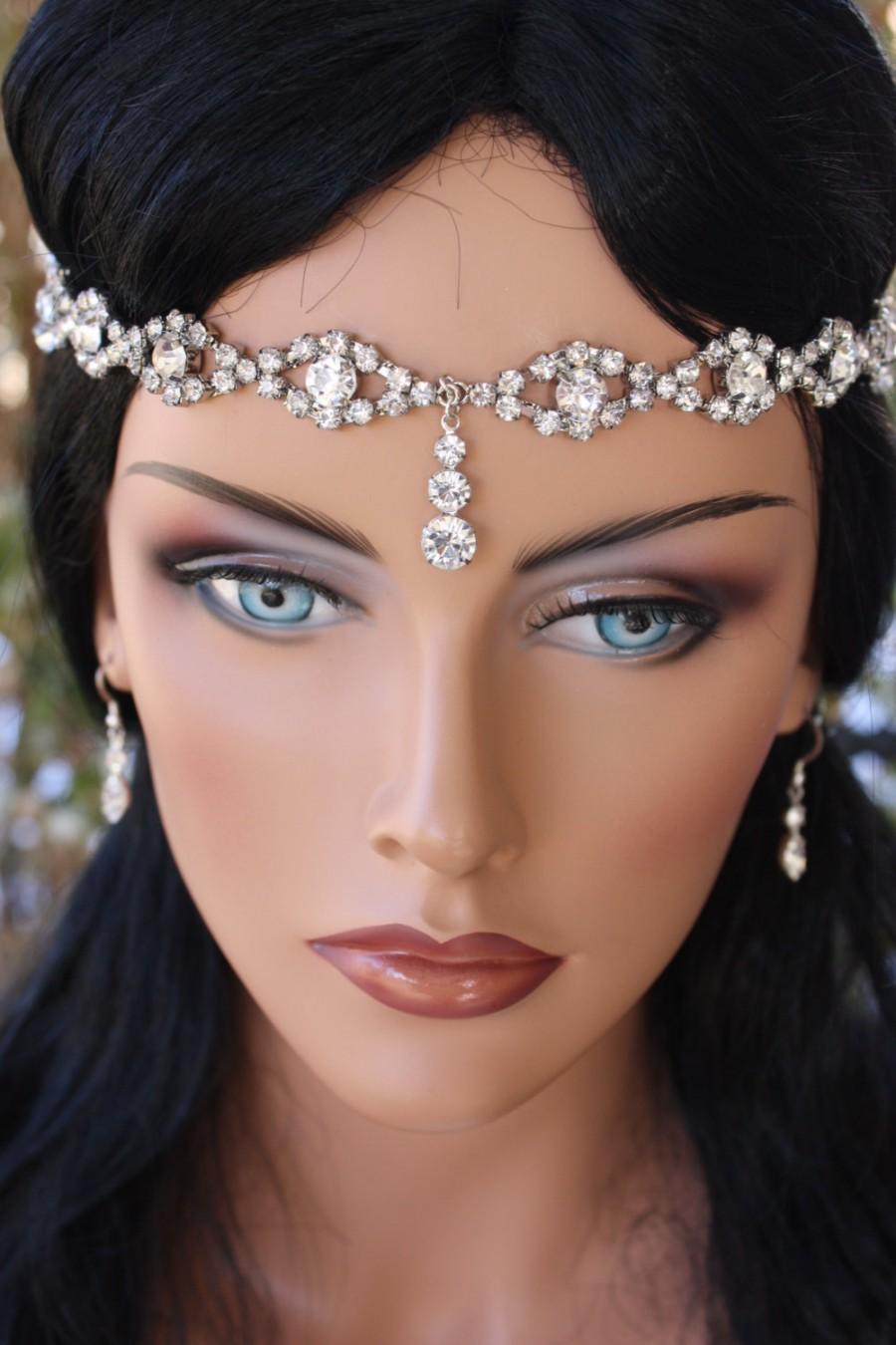 Gorgeous Bridal Head Circlet, Head Piece, Head Dress, Forehead ...