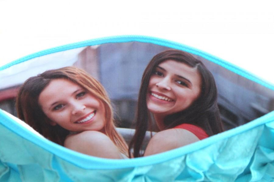 Свадьба - Photo Add On for Photo Clutch - Personalized Custom Inner Lining- Lining only