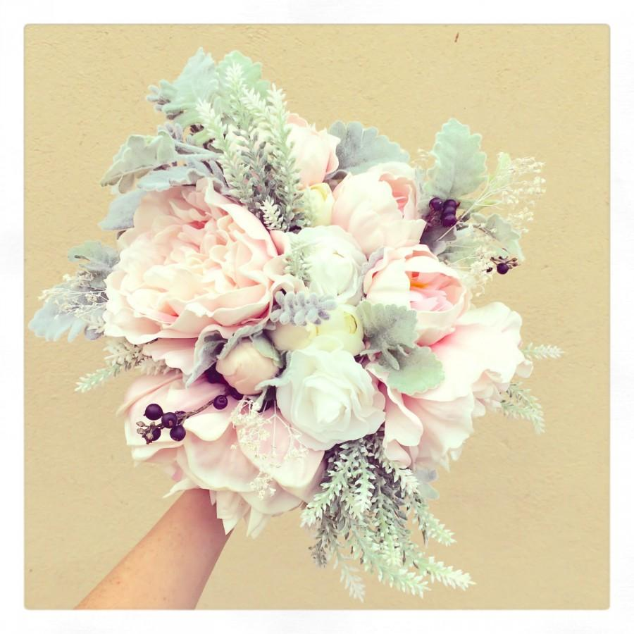 Amazingly Natural Bouquet For Your Wedding Day..Dusty ...