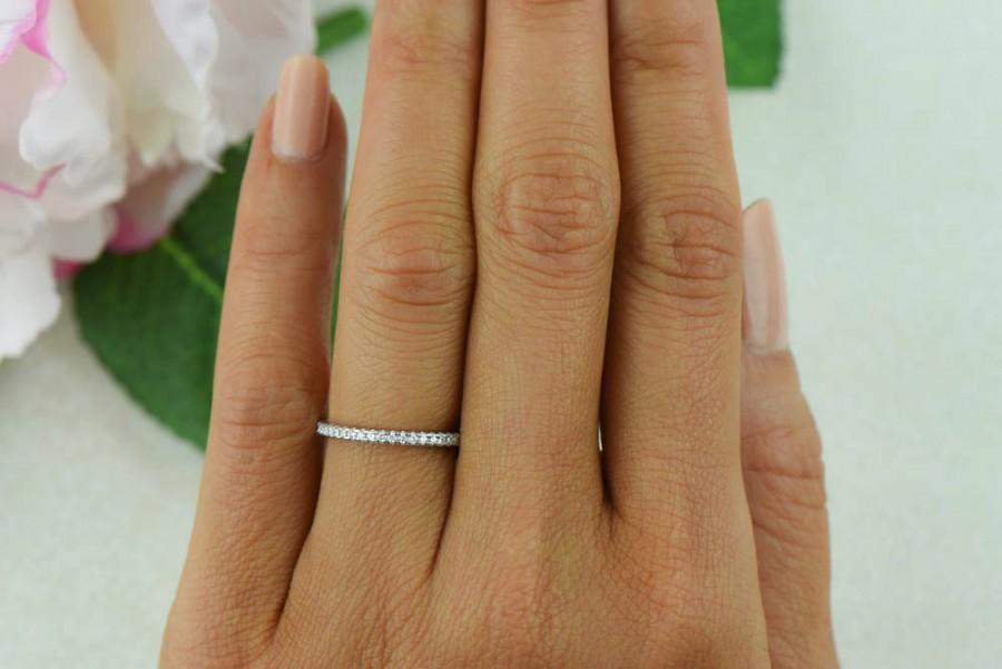 small half eternity ring 1 5mm wedding band engagement