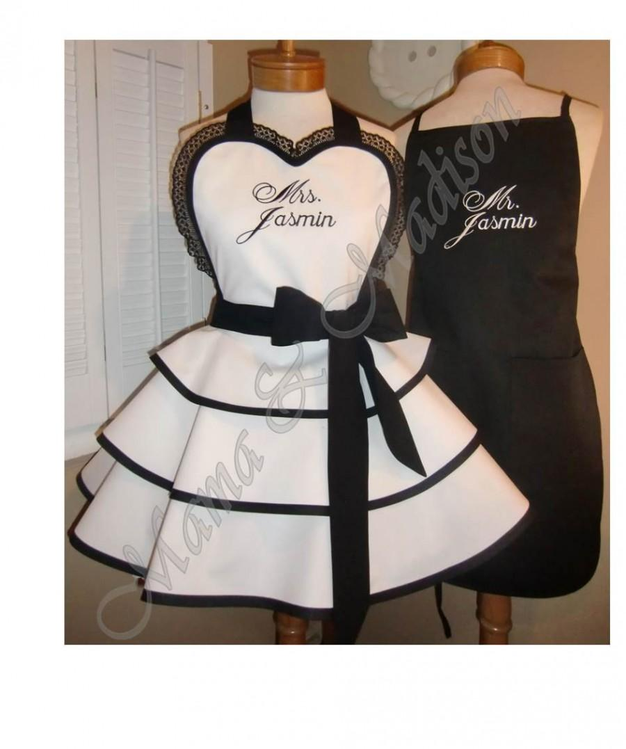 perfect bridal shower gift available in black or white