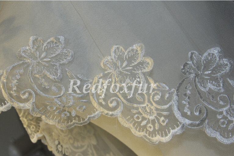 Свадьба - lace veil, bridal veil, wedding veil, white ivory veil, lace wedding veil, perfect flowers veil, bridal accessories