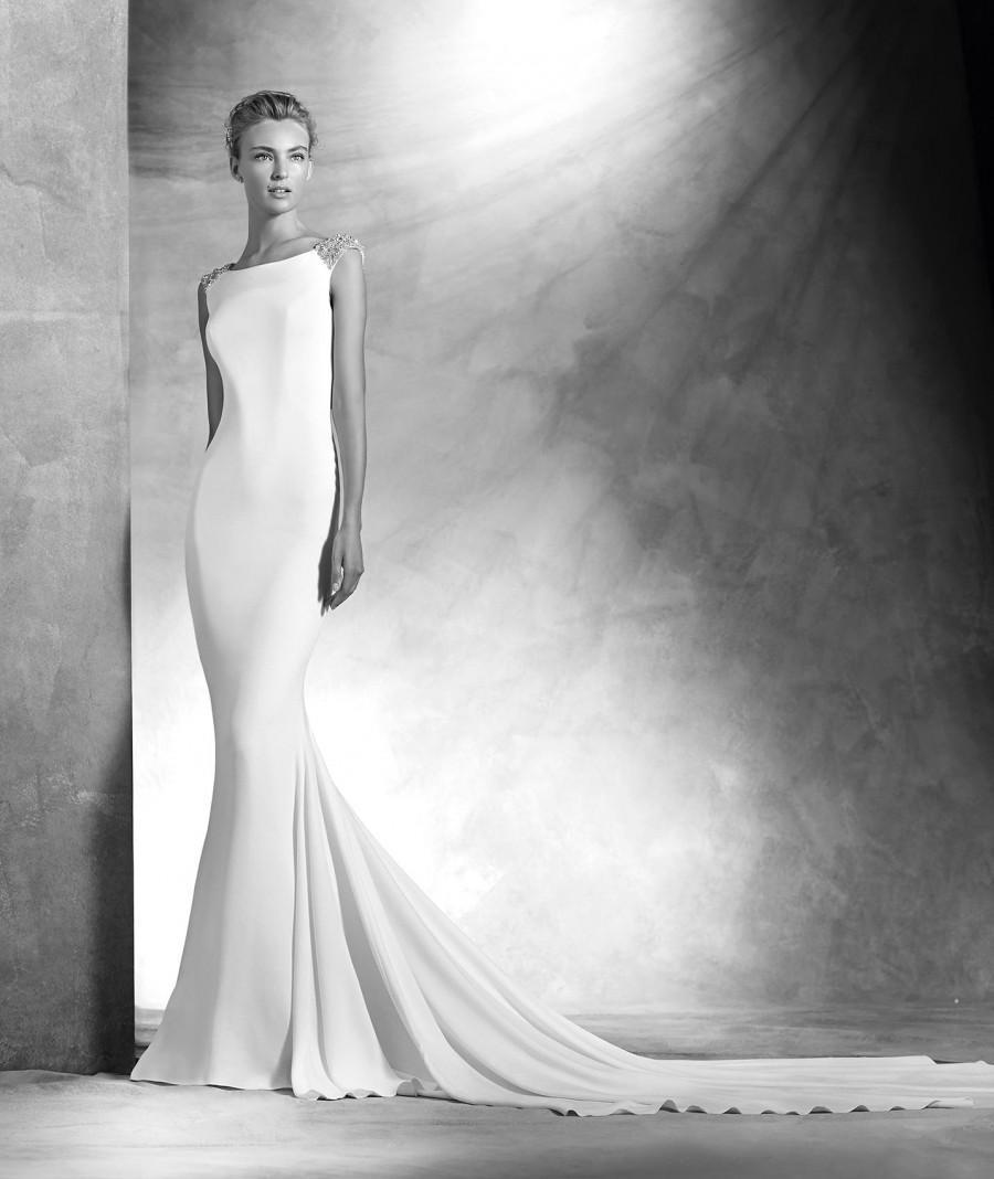Hochzeit - 2016 Atelier Pronovias Style Vanila