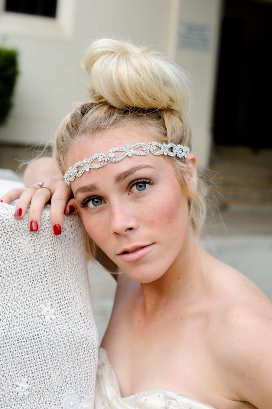 Свадьба - NEW TO SHOP Crystal Headband, Bridal Headband, Vintage Headband