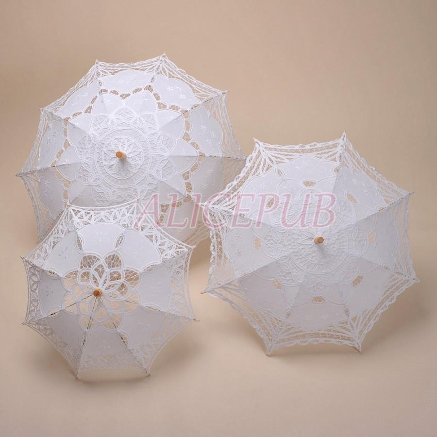 e0cc2ec86b06 Umbrella Parasols, Bridal Umbrella, Flower Girl Parasol, Bridesmaid ...