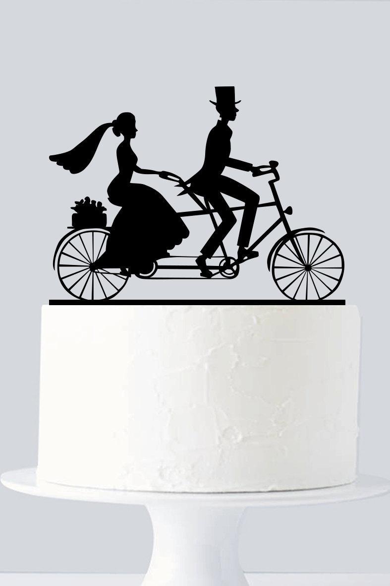 Bicycle Cake Topper, Cycle Cake Topper A955 #2439404 - Weddbook