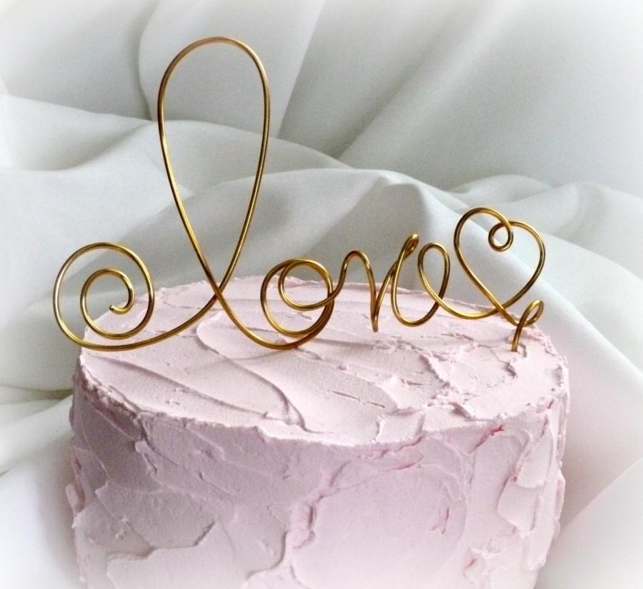 Mariage - Rustic Wedding Cake Topper, Rustic Decor