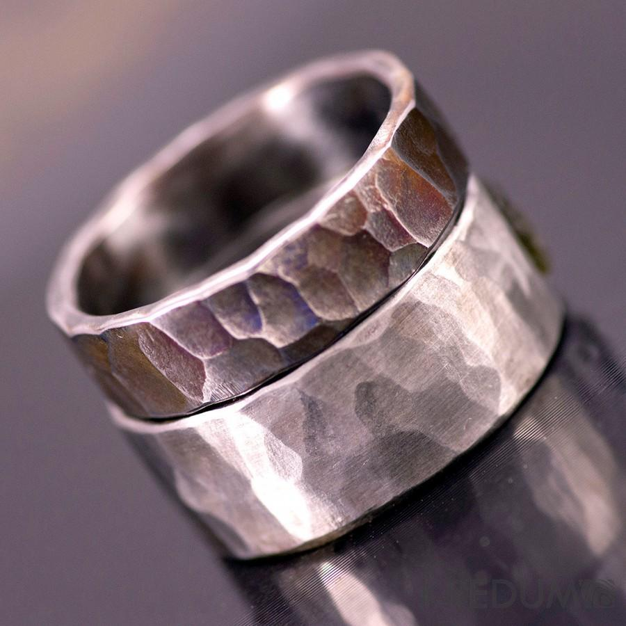 forged the wedding design hoglund stephan rings band jewelry simplicity