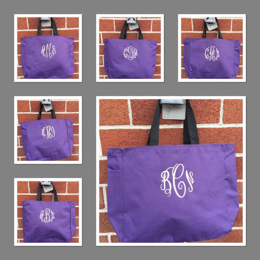 0346f7fca Set Of 7 Bridesmaid Tote Bags