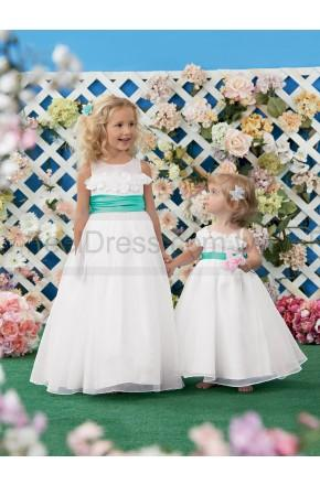 Wedding - Sweet Beginnings by Jordan Flower Girl Dress Style L434