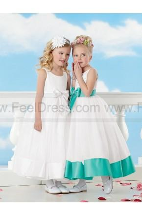 Hochzeit - Sweet Beginnings By Jordan Flower Girl Dress Style L516