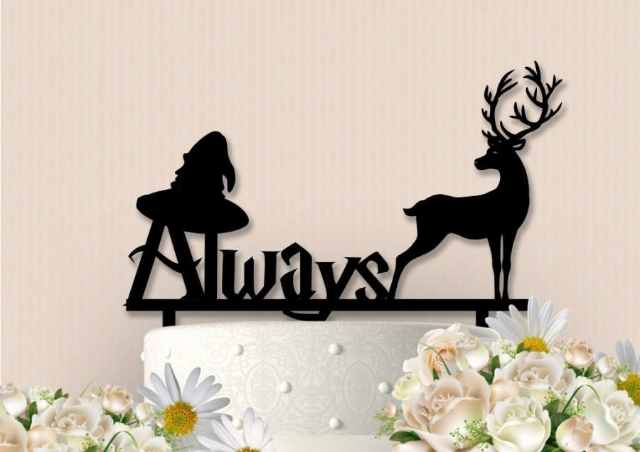 Свадьба - Harry Potter Inspired Always Cake Topper