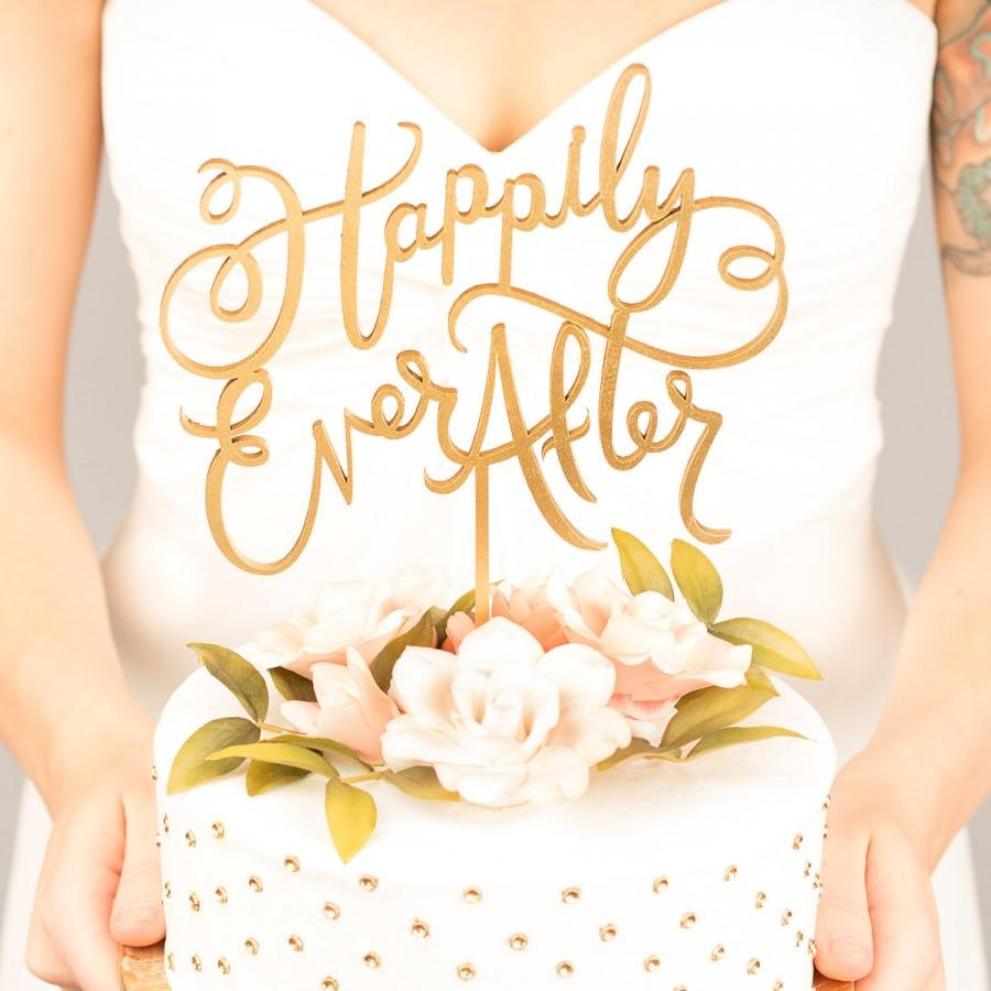 Wedding Cake Topper - Happily Ever After- Joyful Collection #2439941 ...