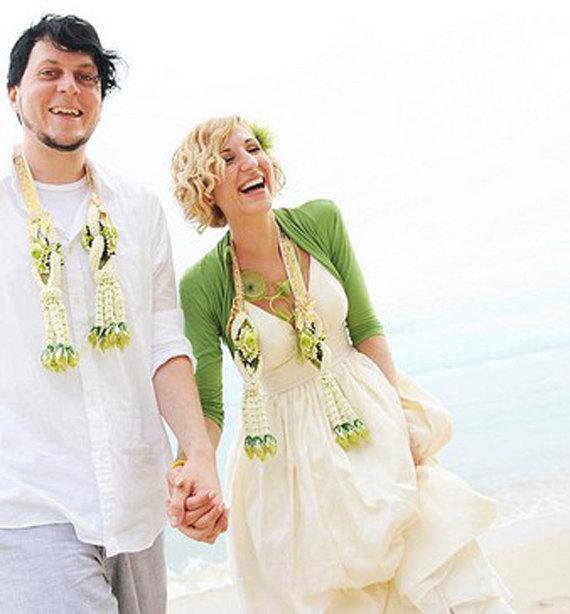 زفاف - USA Principessa Wedding Gown  J Crew Inspired Custom Made Organic Cotton Deep Neckline Spaghetti Straps Full Pleated Skirt Misses Plus Size