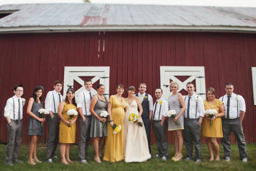 زفاف - Principessa Wedding Gown J Crew Inspired Custom Made Radzimir  with Deep Neckline Spaghetti Straps Full Pleated Skirt Misses Plus Size USA