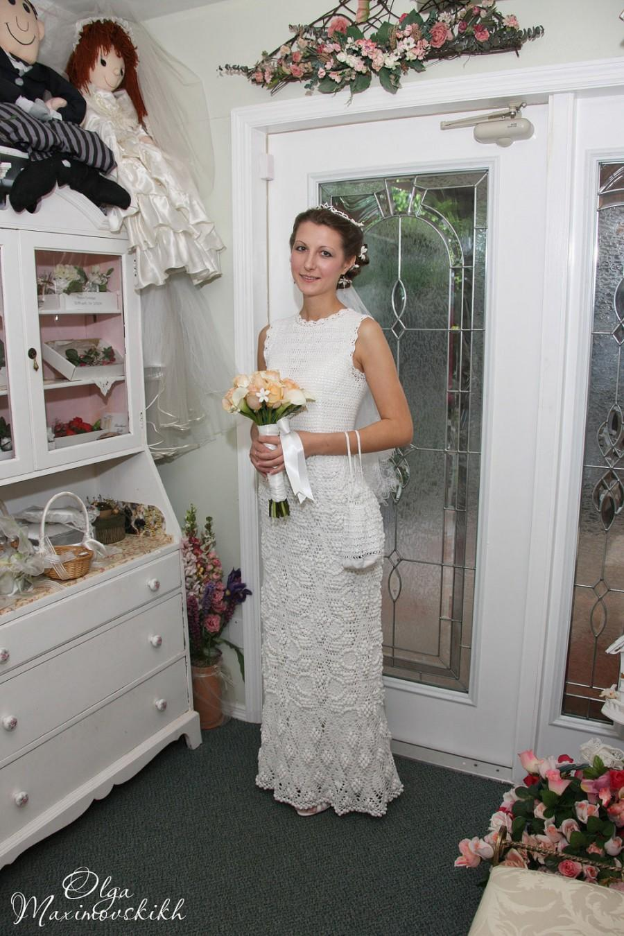 Crochet Wedding Dress. Made To Order. Custom Made #2440000 - Weddbook