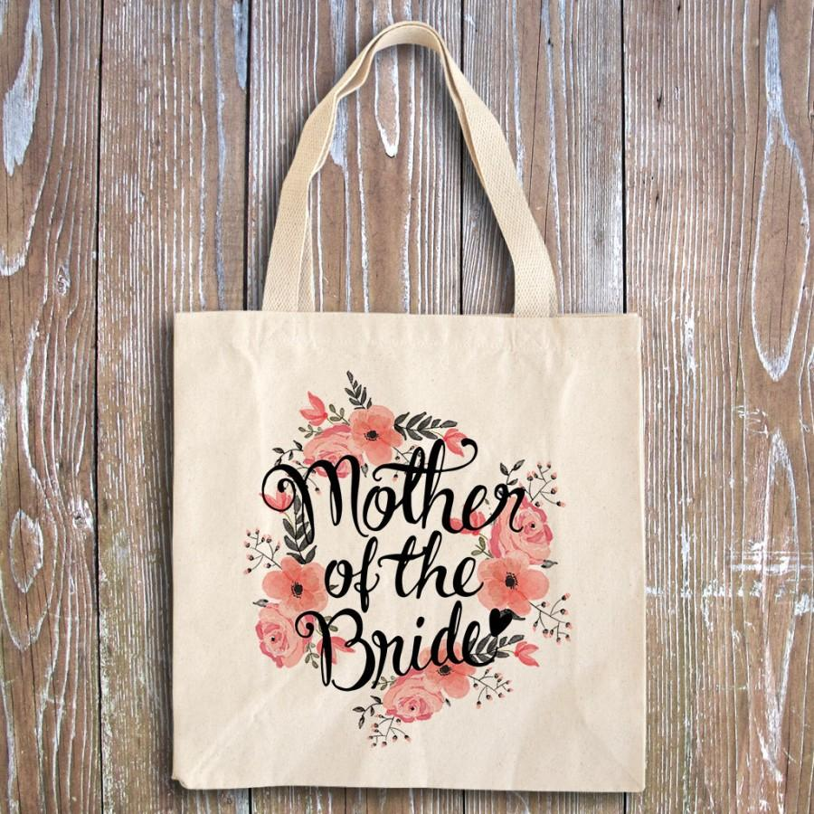 Mariage - Bridal Shower Favors - Wedding Party Favors - Rehearsal Favors - Wedding Shower Favors - Wedding Favors - Mother of the bride tote bag