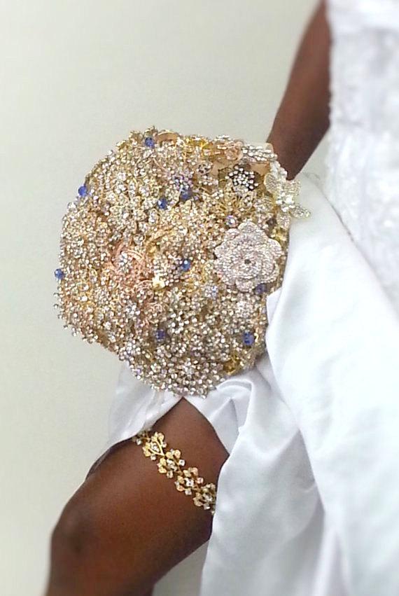 Свадьба - Wedding Garter - Crystal Garter - Bridal Garter - Gold Garter - Blue Garter - Bridal Accessories - Something Blue - Silver Garter - COLLETTE