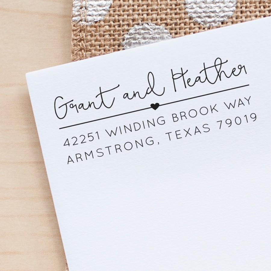custom address stamp return address stamp personalized address stamp