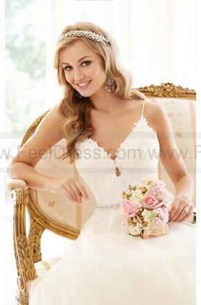 Wedding - Stella York A-line Tulle Wedding Dress Style 6237