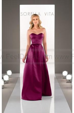 Свадьба - Sorella Vita Satin Bridesmaid Dress Style 8653