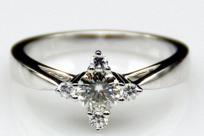 Peter Pan Second Star To The Right Engagment Ring Promise Ring