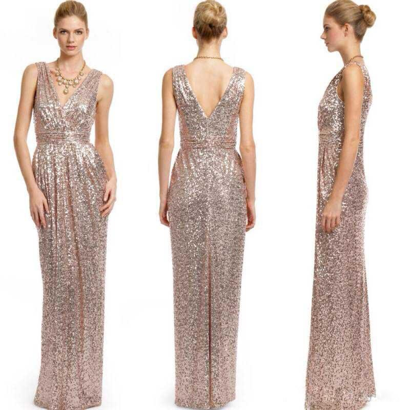 Blingbling sequins long bridesmaid dresses 2016 hot sale for Wedding dress for sale cheap