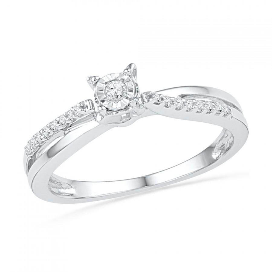 sterling heart diamond ring product silver engagement centres charm rings