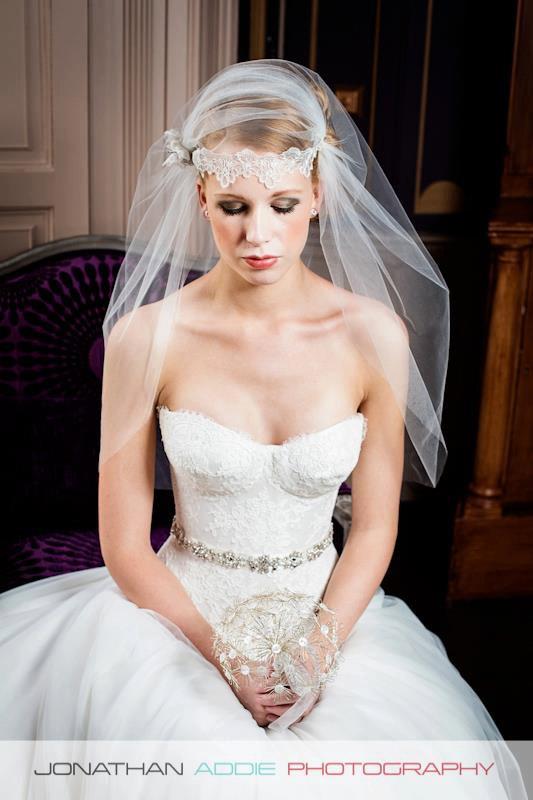 Свадьба - Dandelion clock wedding bouquet. Wire flower and button wedding bouquet.