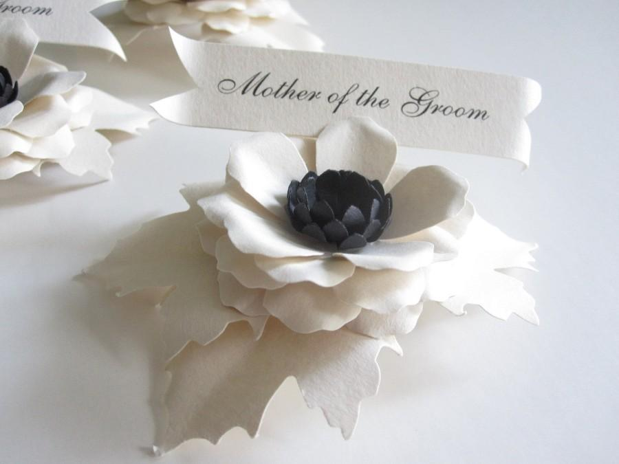 Invitation bridal party paper flower place cards 2441330 weddbook bridal party paper flower place cards mightylinksfo