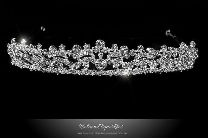 7ac4b6ffe Bridal Tiara, Swarovski Crystal Vintage Victorian Tiara, Art Deco Crystal  Tiara, Royal Reign Tiara, Wedding Tiara, Swarovski Crystal Crown