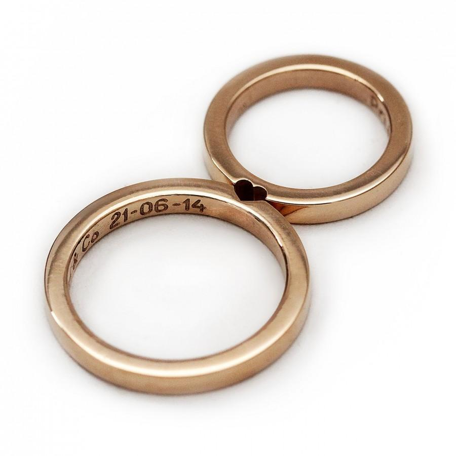 men wedding rings rose gold mens wedding band