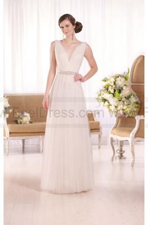 Свадьба - Essense of Australia Grecian-Inspired Sheath Wedding Dress Style D2022