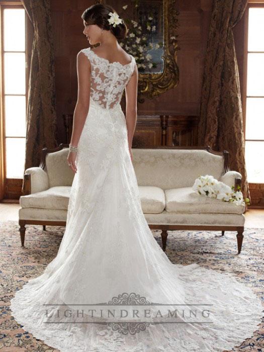 Wedding Dresses Lace Back Uk - Wedding Dress Ideas