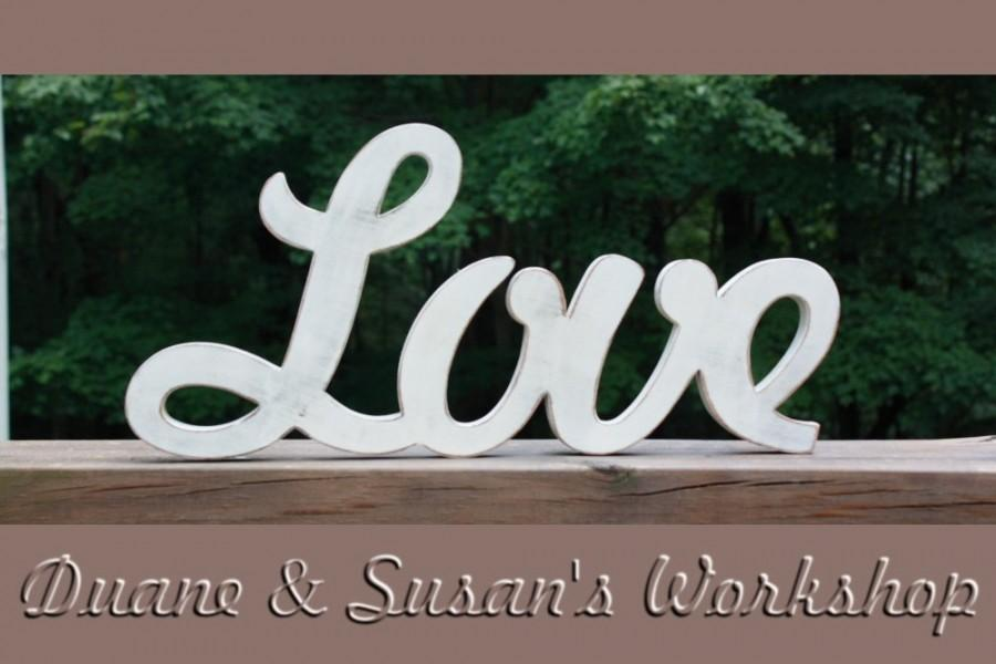 Love Sign Diy Wedding Decoration Wall Hanging Wooden Letters Home Decor Wood Housewares