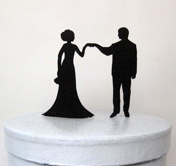 Свадьба - Wedding Cake Topper - Fist Bump Wedding, Fist Bump Cake Topper, Pound It Cake Topper, Fist It Cake Topper