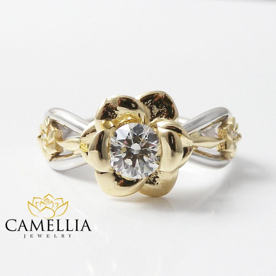yellow ring rings in gold engagement carat white with solitaire diamond a