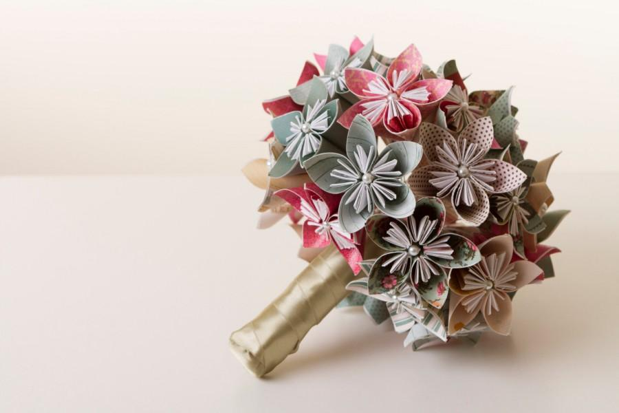 Origami flower bouquet origami bouquet paper flower bouquet origami flower bouquet origami bouquet paper flower bouquet wedding bouquet paper flower bouquet kusudama bouquet mightylinksfo