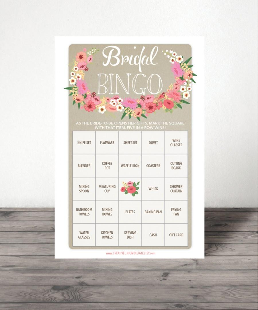 bridal shower bingo game 76 unique game sheets wedding shower game shower bingo popular shower games bridal bingo instant download