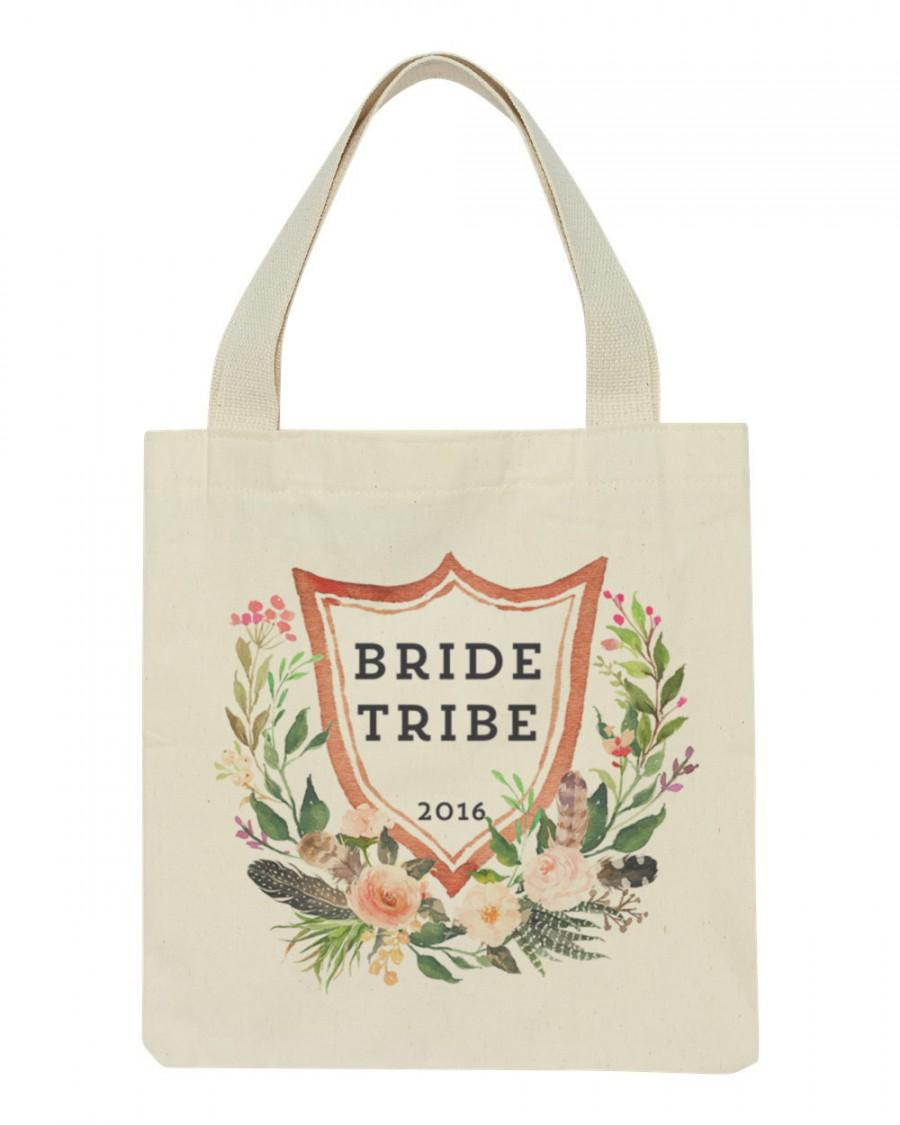Bride Tribe 2017 Bachelorette Swag Bags To Be Tote Bag Wedding Future Mrs