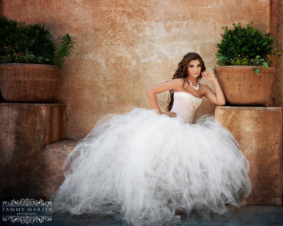Bridal Tulle Tutu Wedding Dresses