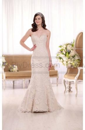 Mariage - Essense of Australia Corded Lace Wedding Dress Style D1985