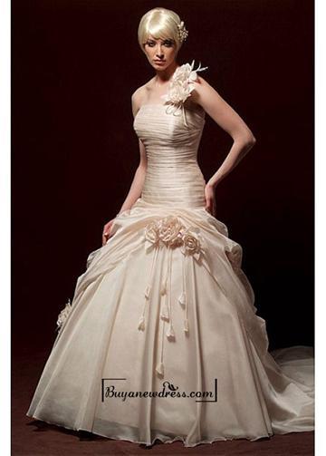 Wedding - Beautiful Elegant Exquisite Organza A-line Wedding Dress In Great Handwork