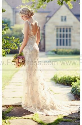 Mariage - Essense of Australia Open Back Wedding Dresses Style D1786