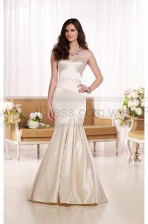Wedding - Essense of Australia Strapless Wedding Dresses Style D1785