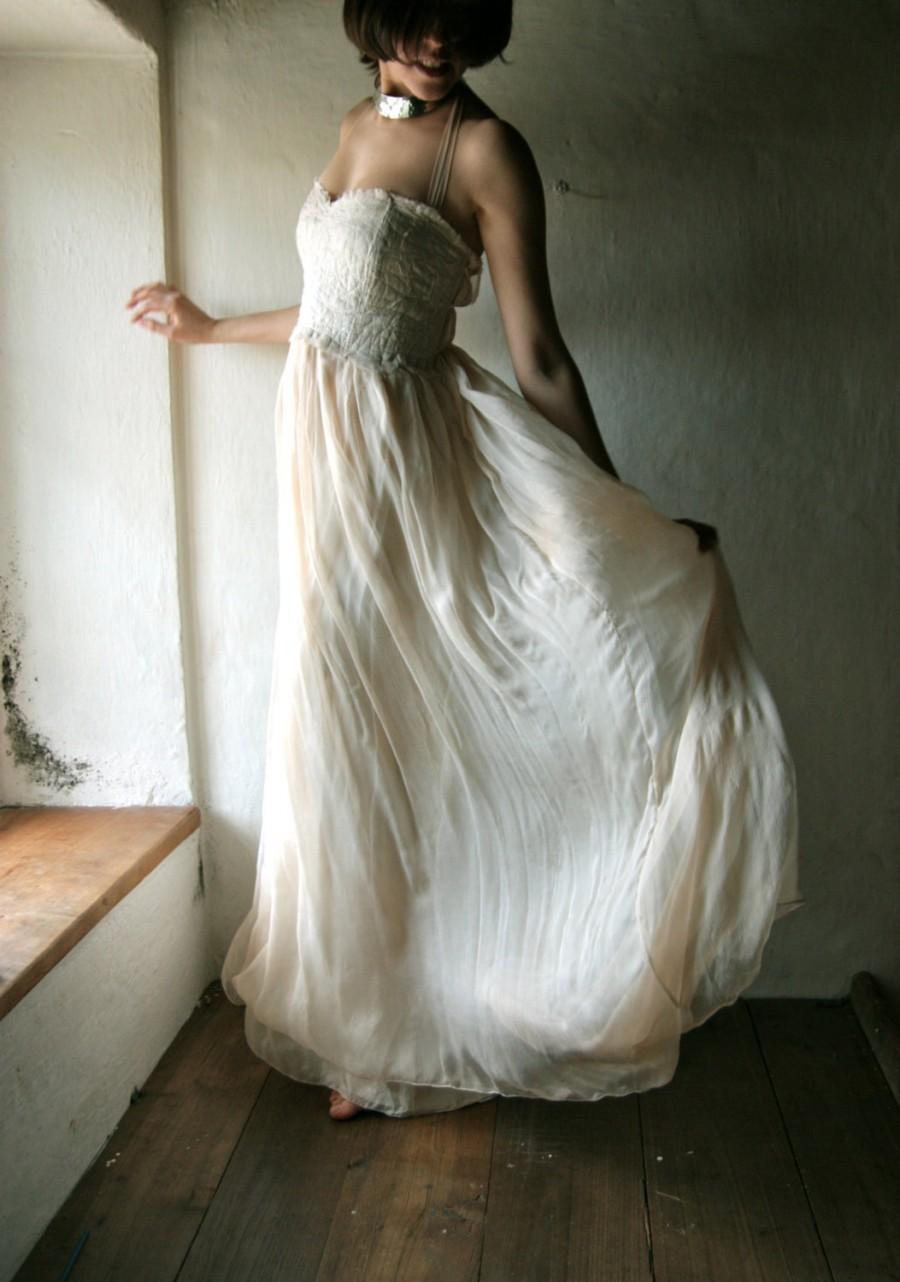 Wedding dress beach wedding dress boho wedding dress for Hippie dresses for weddings