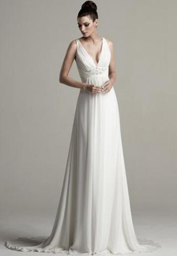 Empire A-Line Wedding Dresses