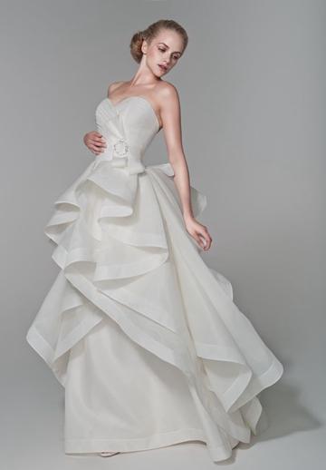 Pleated Organza Dresses