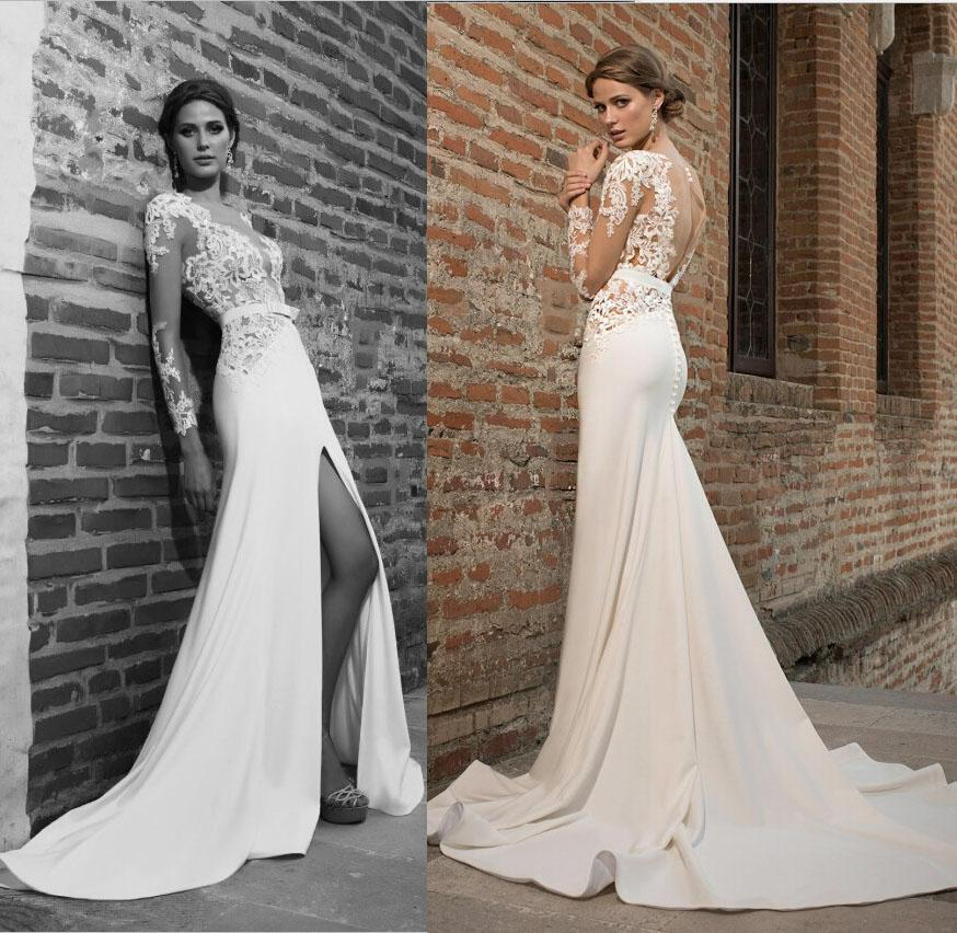 2016 New Beautiful Bien Savvy Sexy Wedding Dresses